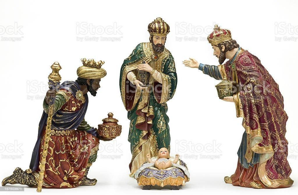 Adoration (Nativity scene) royalty-free stock photo