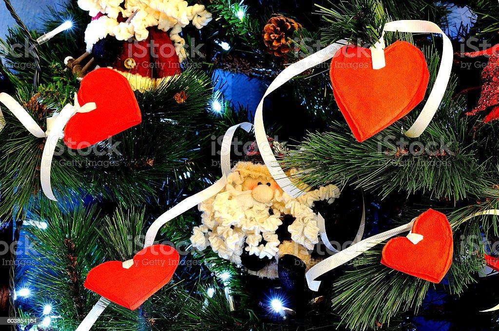 adorno árbol de navidad royalty-free stock photo
