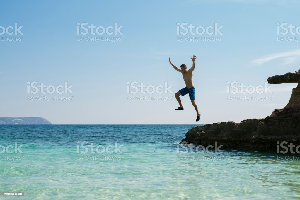 Adrenalin Junkie stock photo