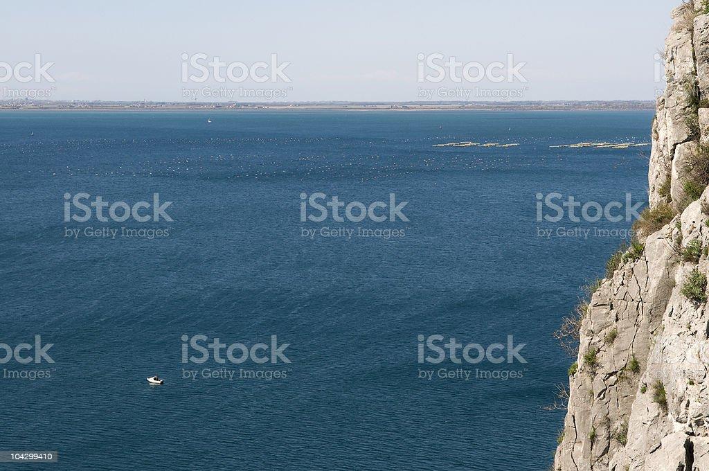 Adriatic Sea Italy royalty-free stock photo