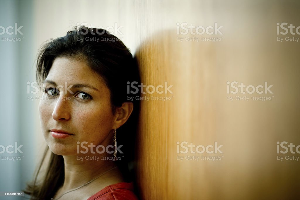 Adrift in Thought royalty-free stock photo