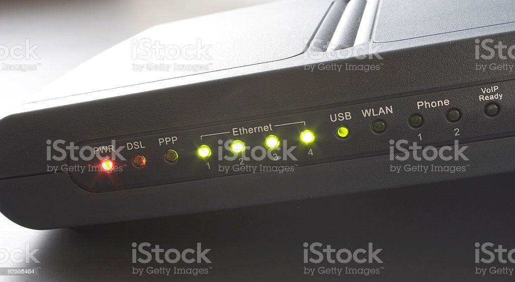 adsl royalty-free stock photo