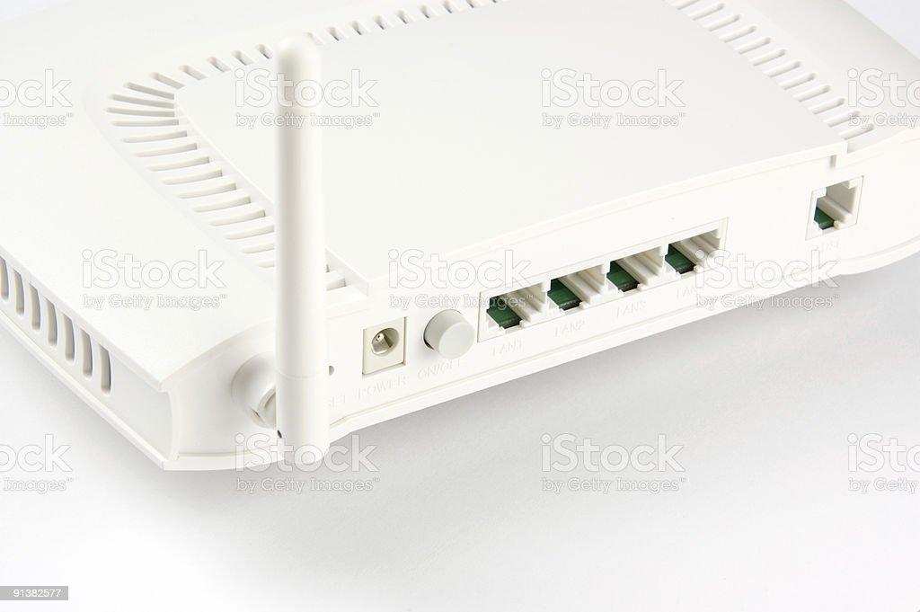 Adsl Wireless Modem royalty-free stock photo