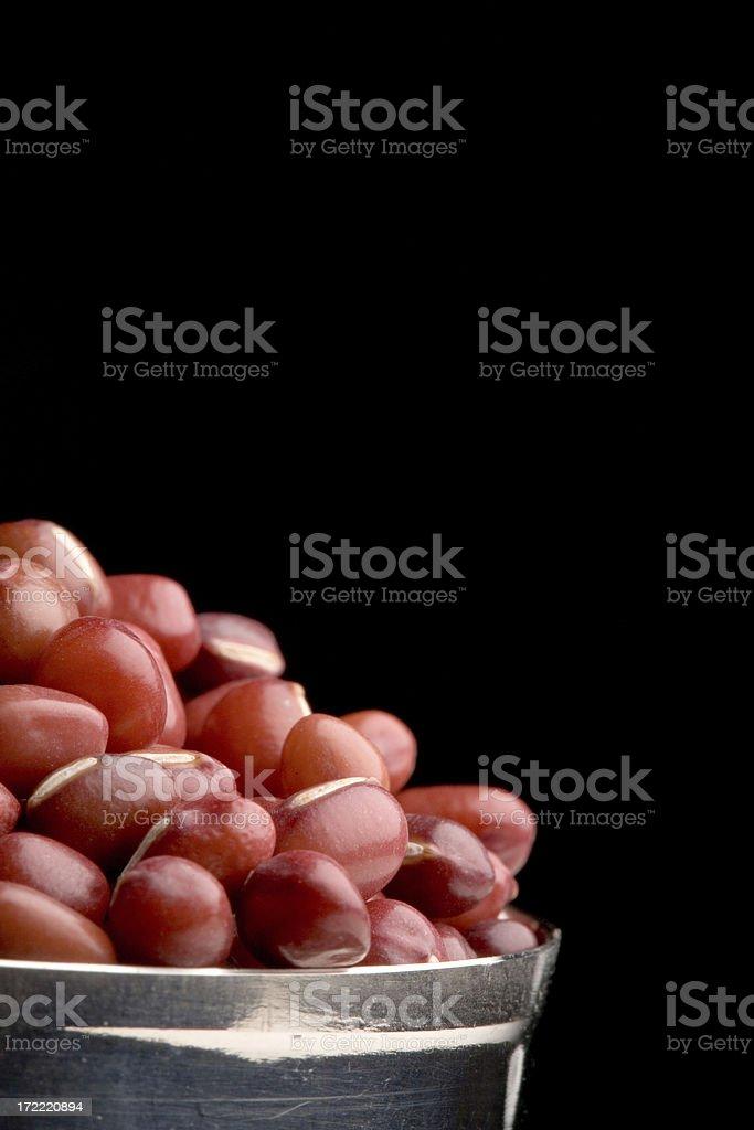 aduki beans stock photo