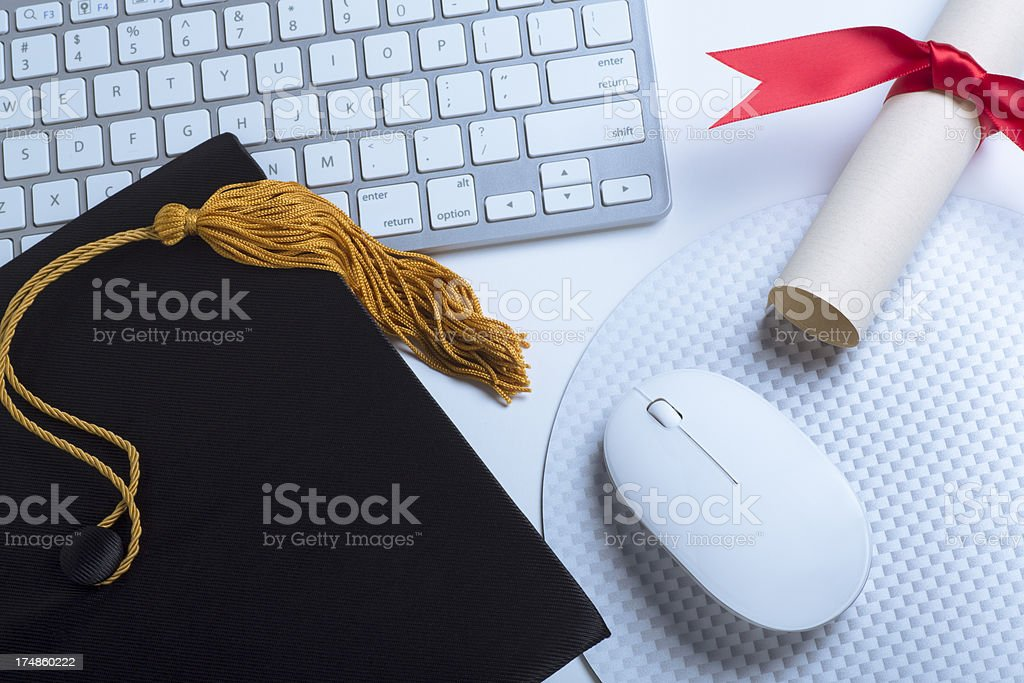 Adult Classes Online royalty-free stock photo
