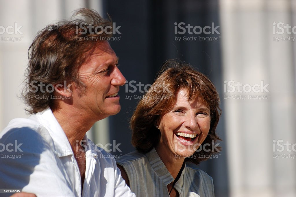 Adult Couple royalty-free stock photo