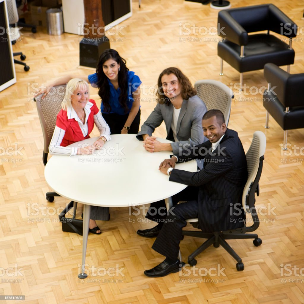 adult education: business students royalty-free stock photo