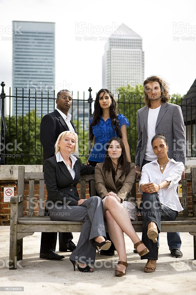 adult education business studies: London business royalty-free stock photo