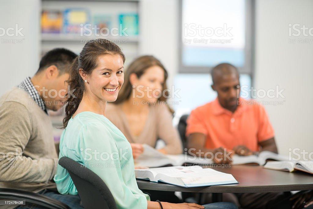 Adult Education royalty-free stock photo
