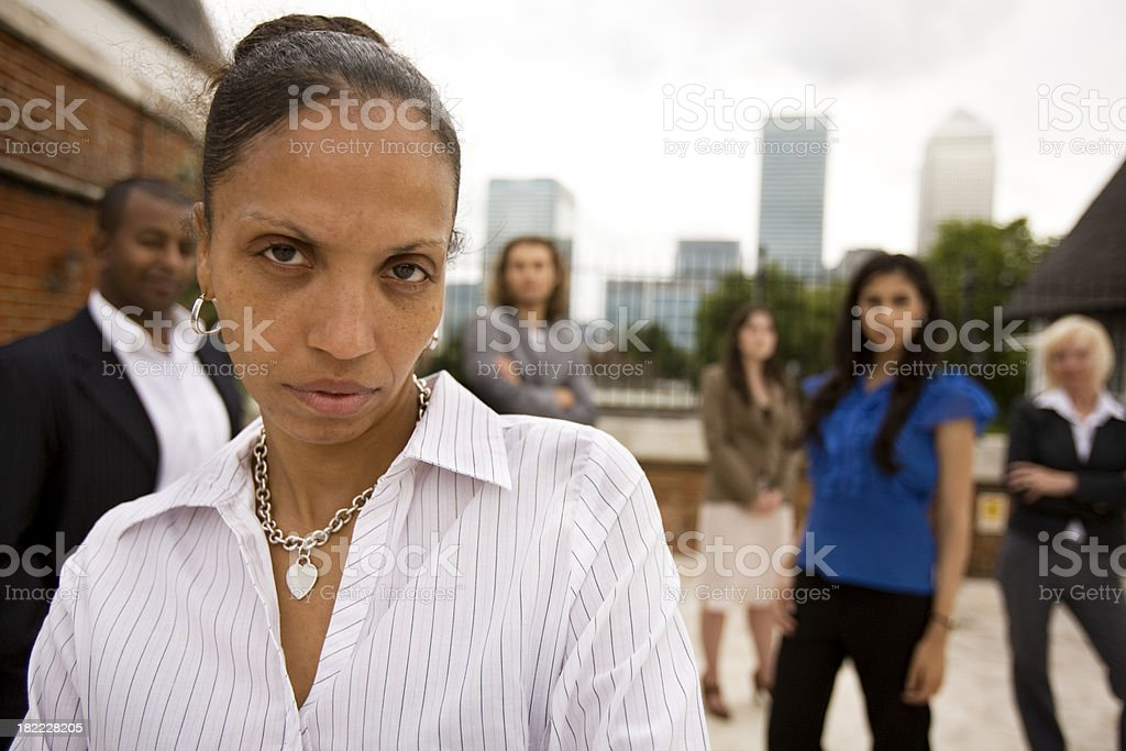 adult education: women in business royalty-free stock photo