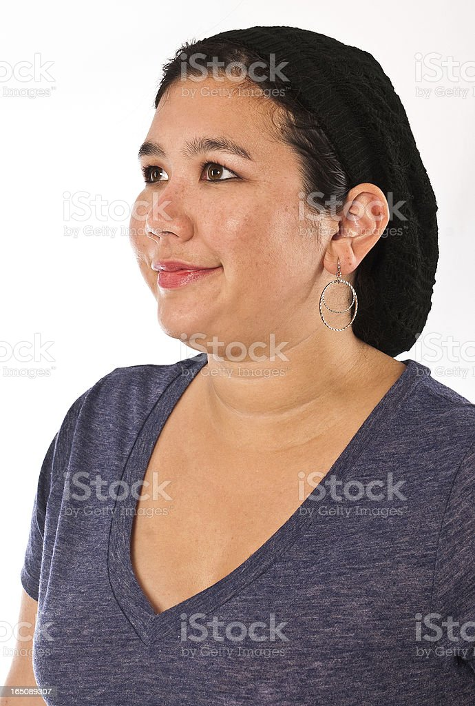 Adult Female of Asian Ethnicity royalty-free stock photo