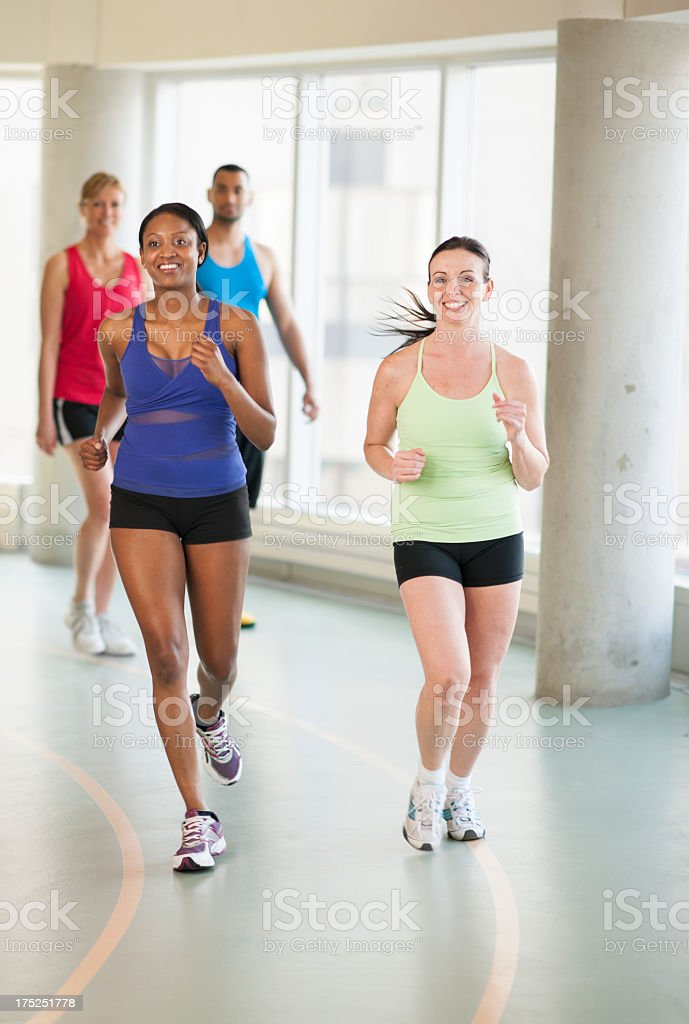 Adult Fitness. royalty-free stock photo