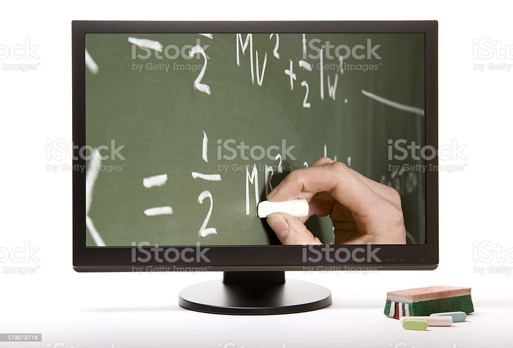 Adult learning. royalty-free stock photo