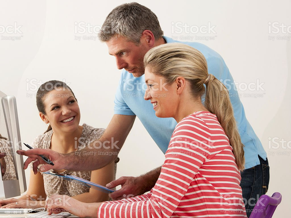 Adult Learning royalty-free stock photo