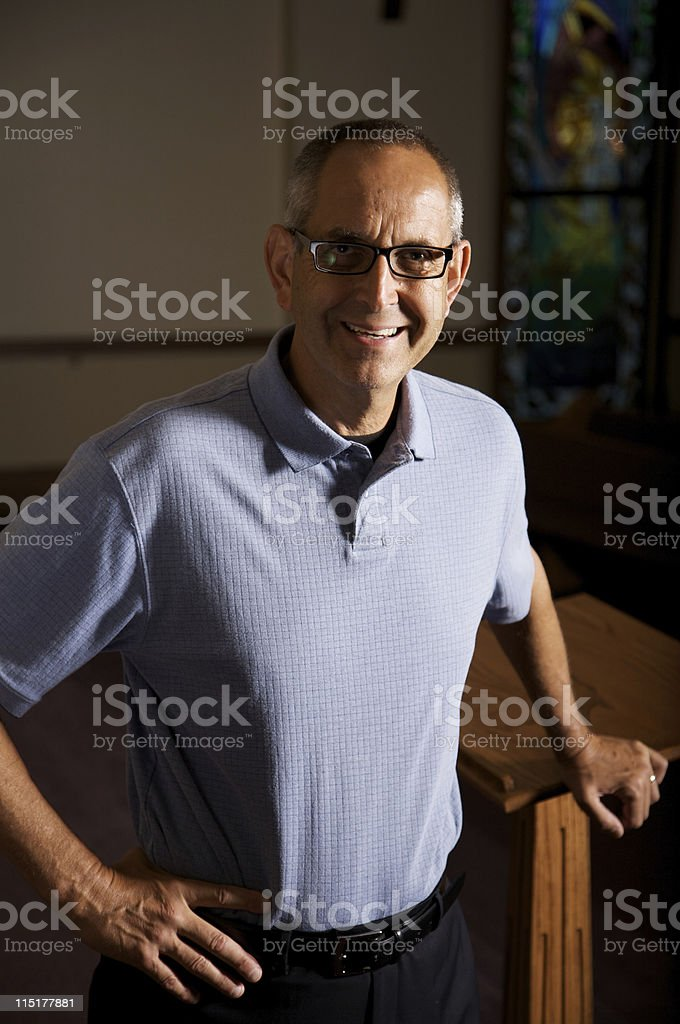 adult male teacher stock photo