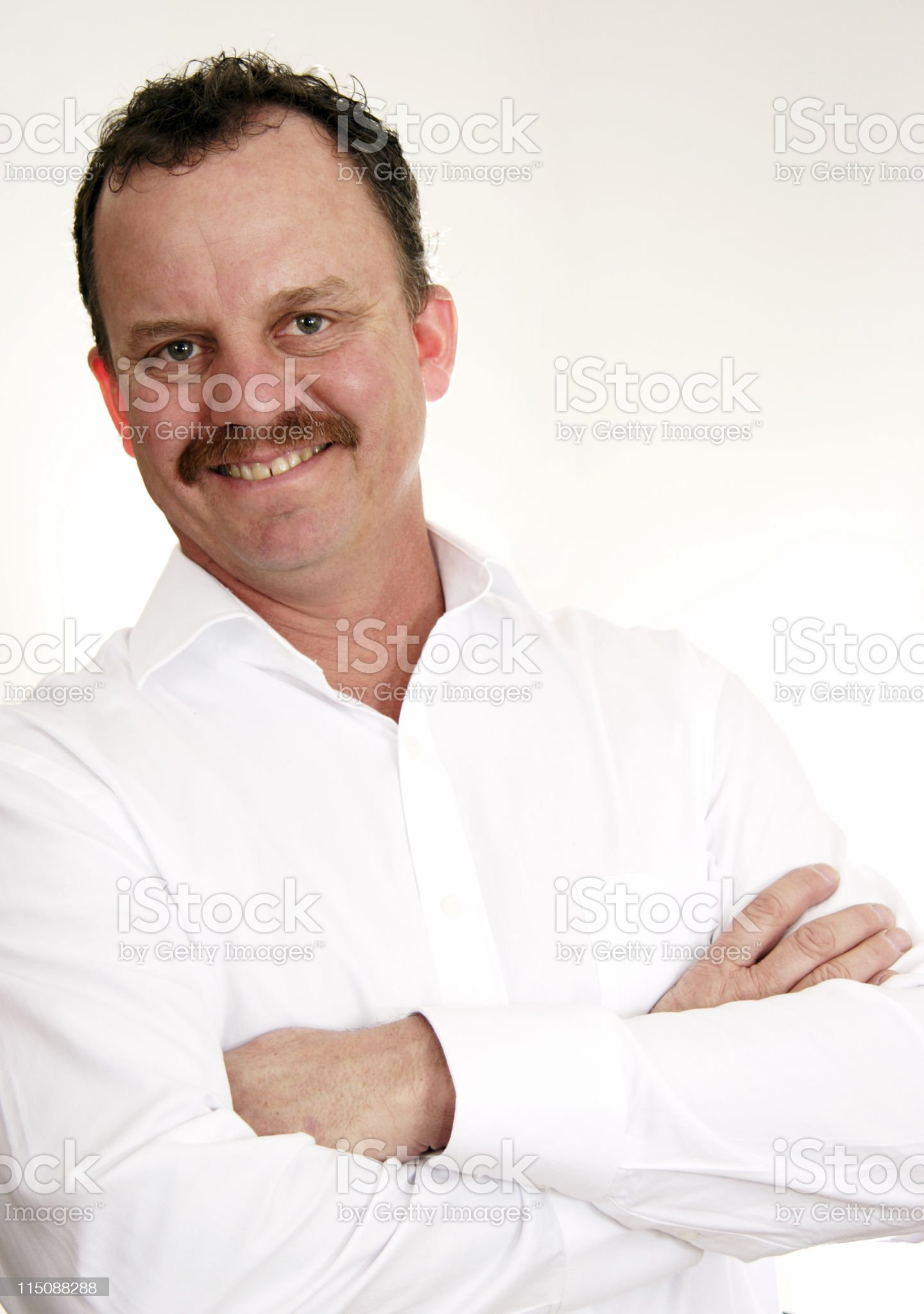 adult man  - middle aged male royalty-free stock photo