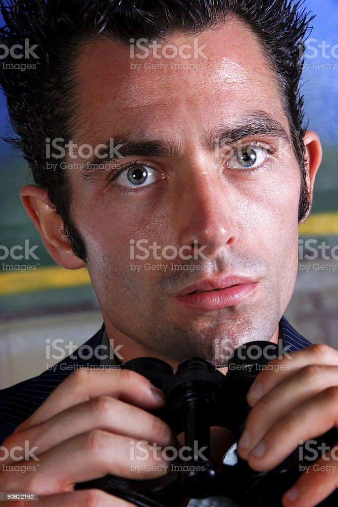 adult man people of vision series stock photo