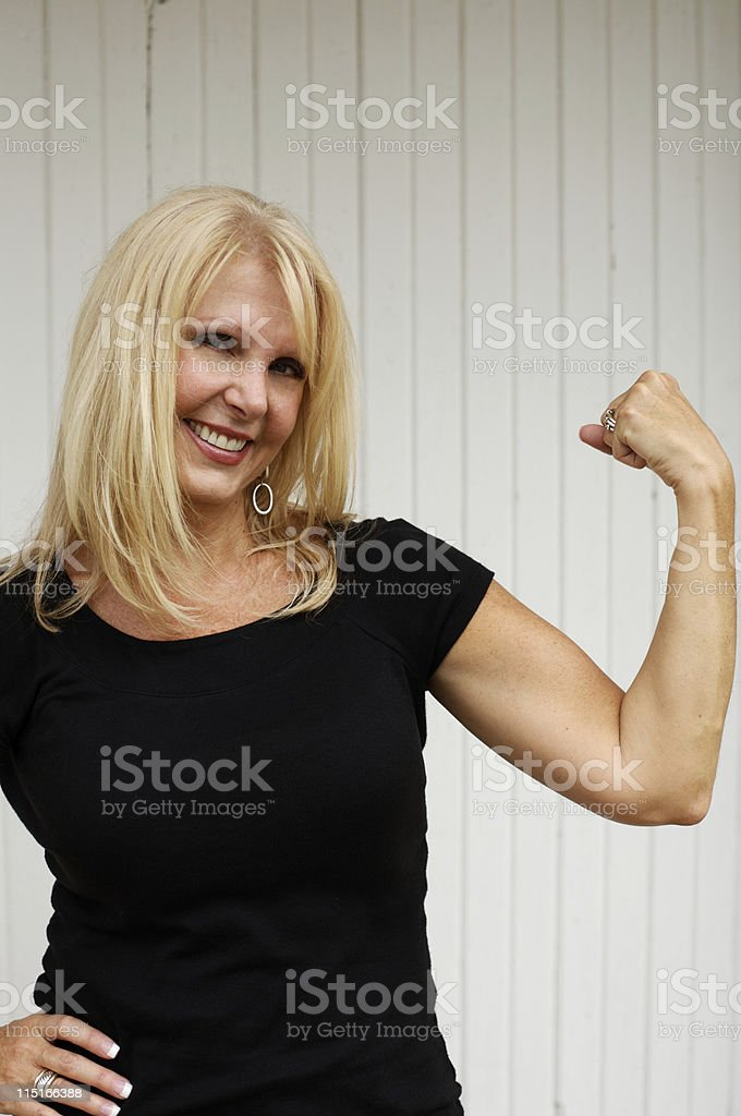 adult middle-aged women portraits royalty-free stock photo