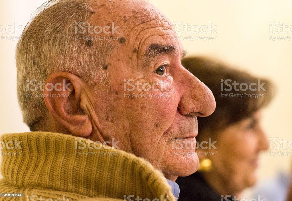 Adult portrait stock photo