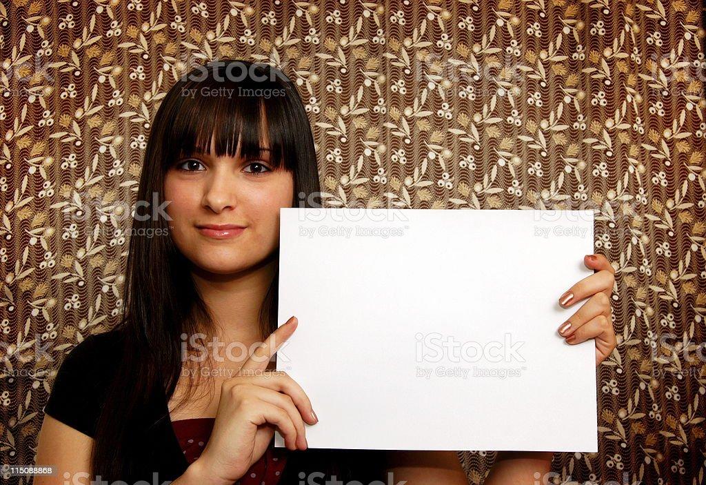 adult scenes - young hispanic woman royalty-free stock photo