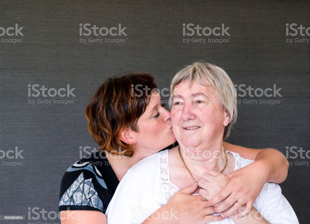 Adult Seniors Having Fun At The Day Care Center stock photo