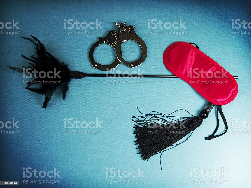 Adult S&M Toys stock photo