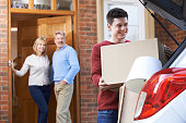 Adult Son Moving Out Of Parent's Home