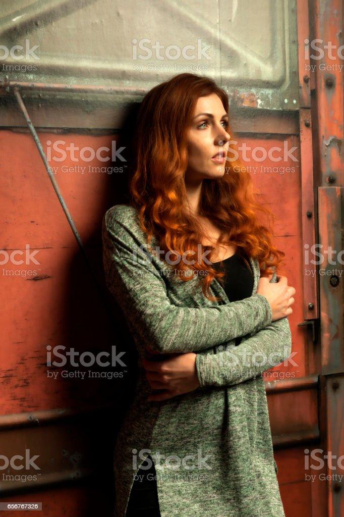 Adult woman stock photo