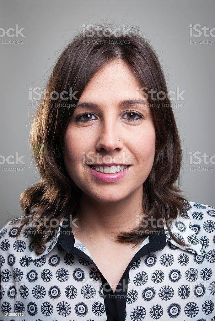 Adult Woman Portrait stock photo