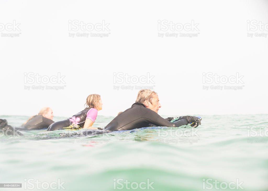 Adult Women Bodyboarding stock photo