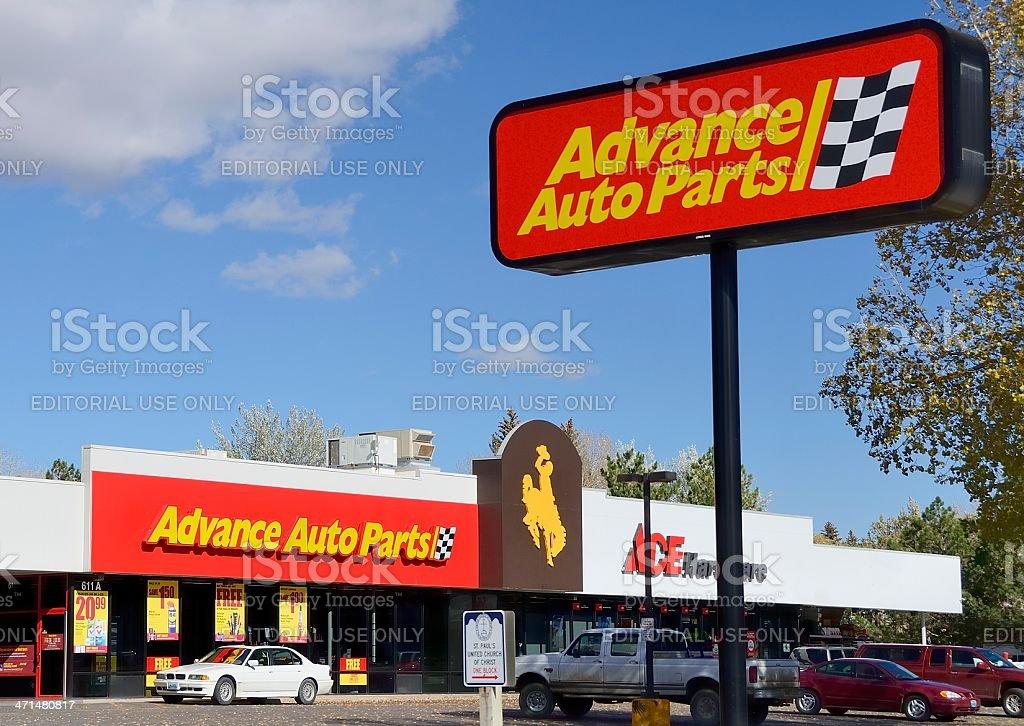Advance Auto Parts stock photo