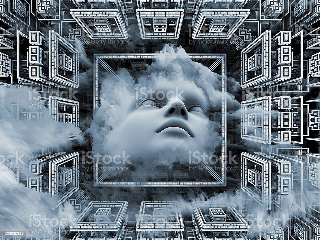 Advance of the Mind royalty-free stock photo
