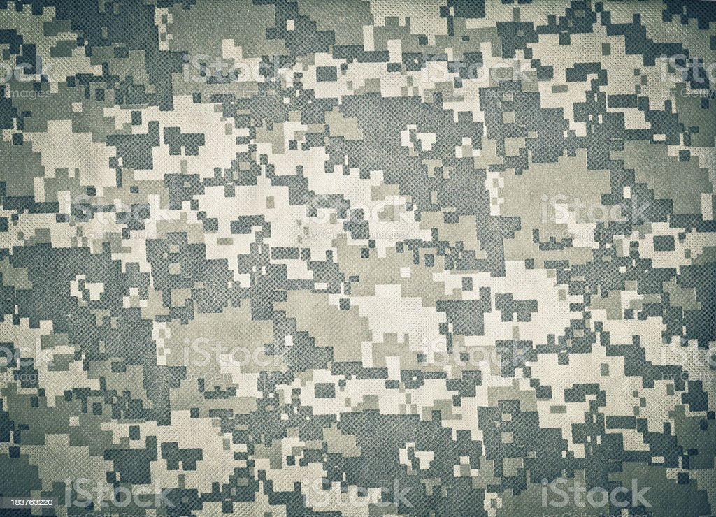 Advanced Combat Uniform (ACU) Camouflage Background stock photo