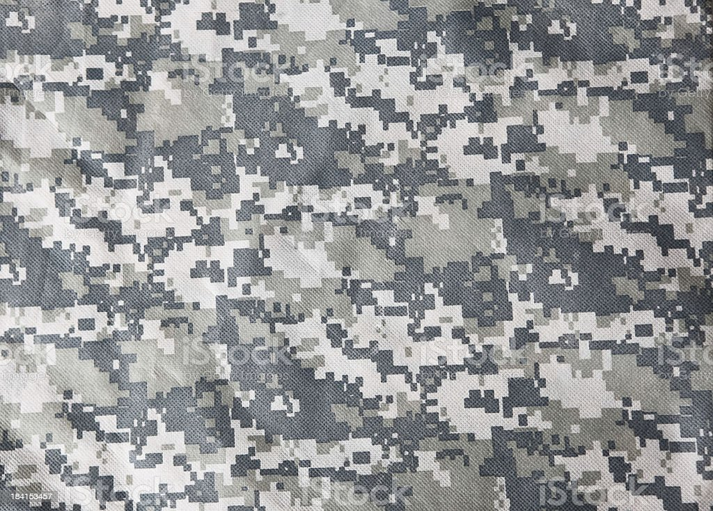 Advanced Combat Uniform (ACU) Camouflage Background stock photo