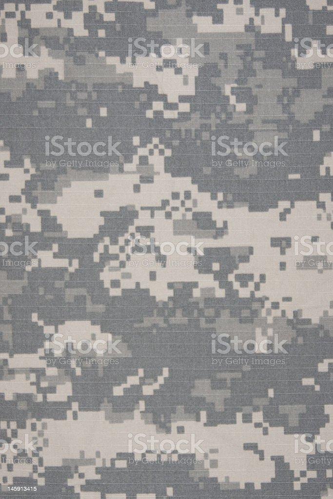 Advanced Combat Uniform (ACU) pattern stock photo