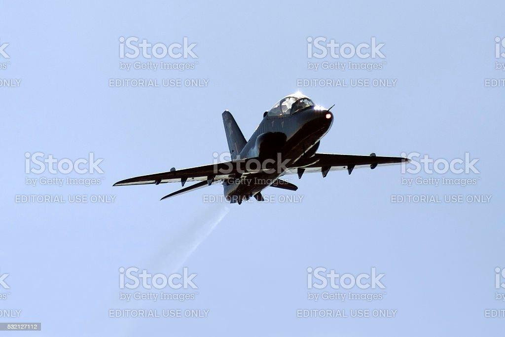 RAF advanced jet trainer. stock photo