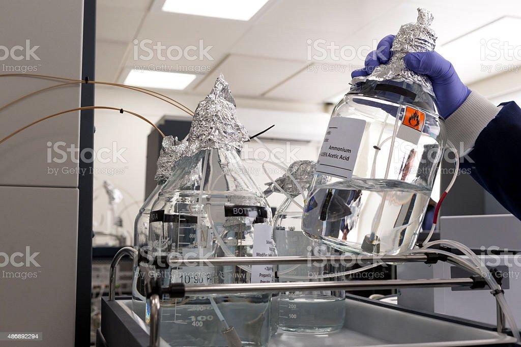 Advanced Medical Testing Equipment stock photo