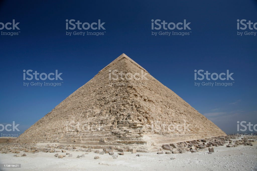 Advanced Traditions, Giza Pyramids stock photo
