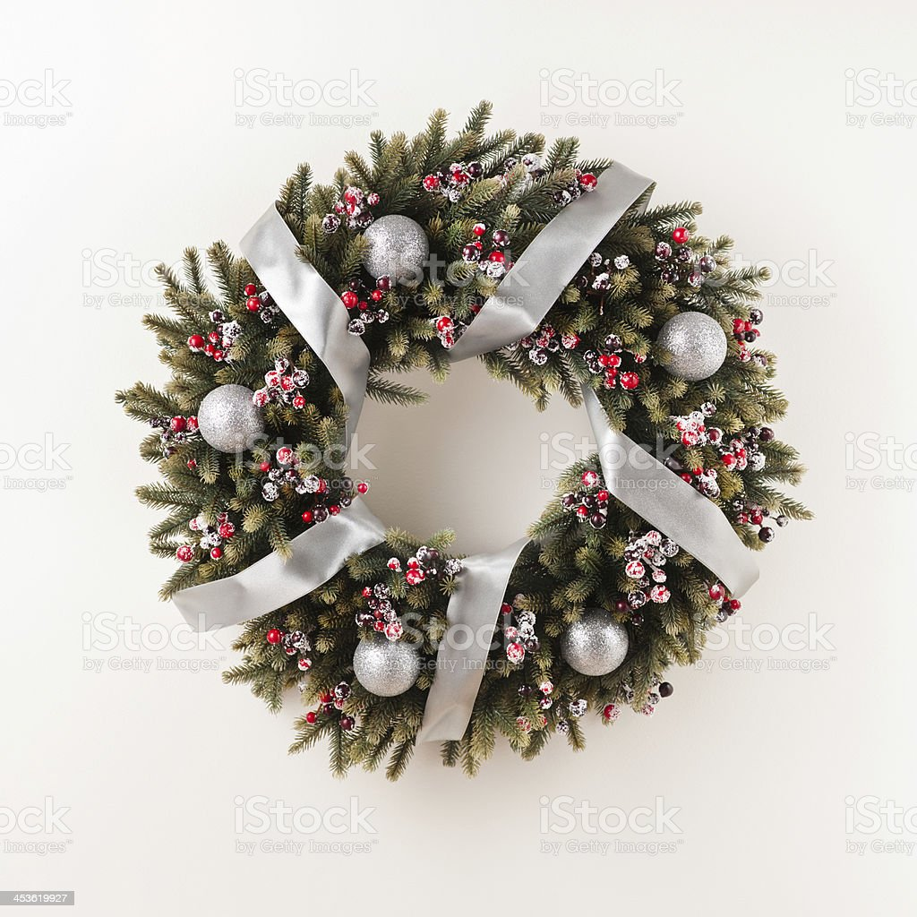 Advent Christmas wreath royalty-free stock photo