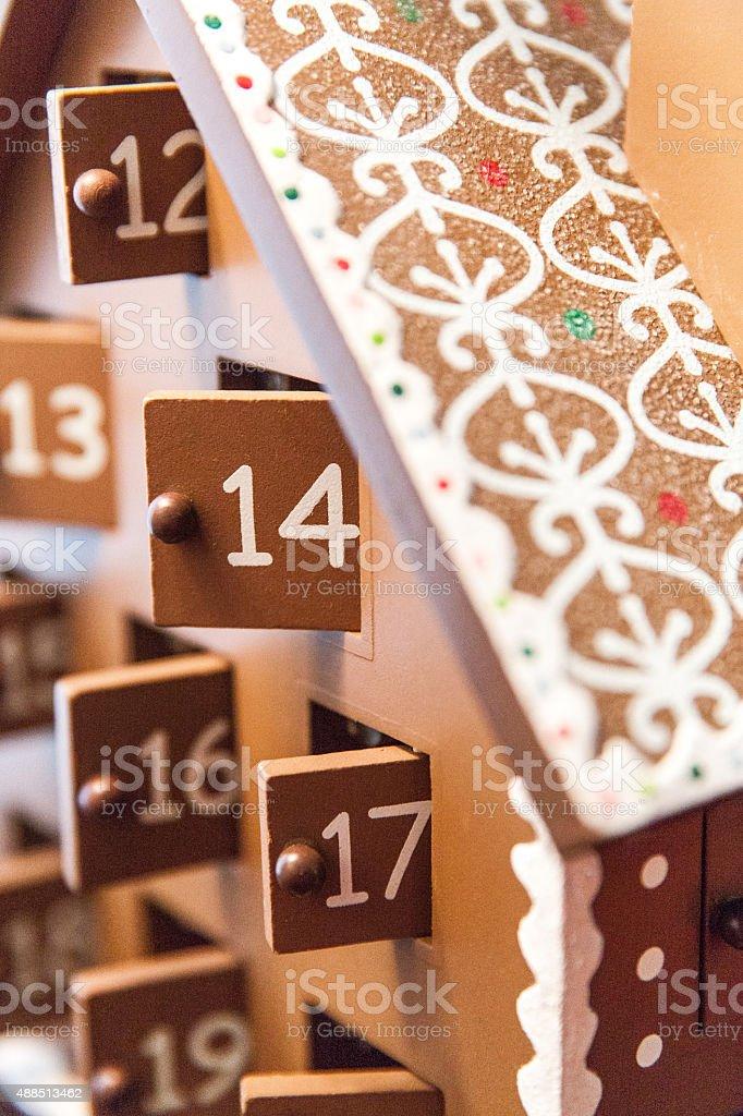 Advent Countdown stock photo