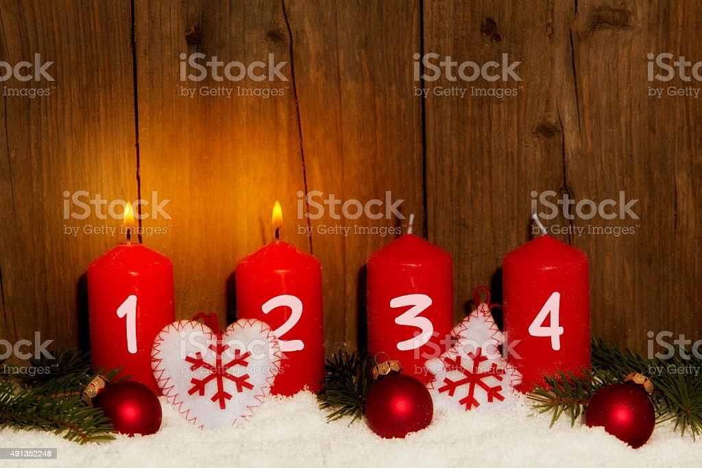 2. Advent stock photo