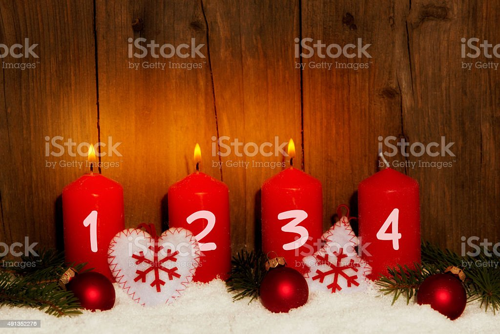 3. Advent stock photo