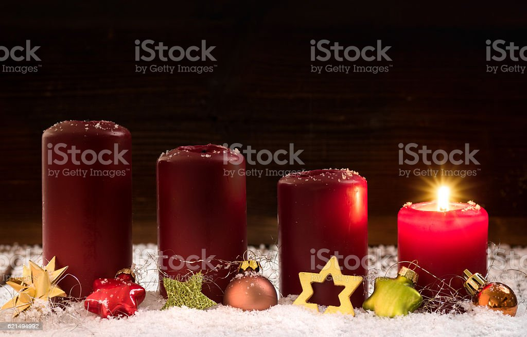 1. Advent stock photo
