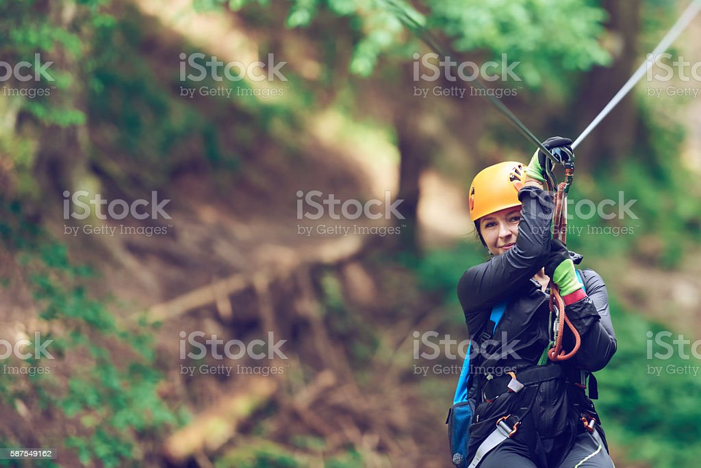 adventure and active lifestyle stock photo
