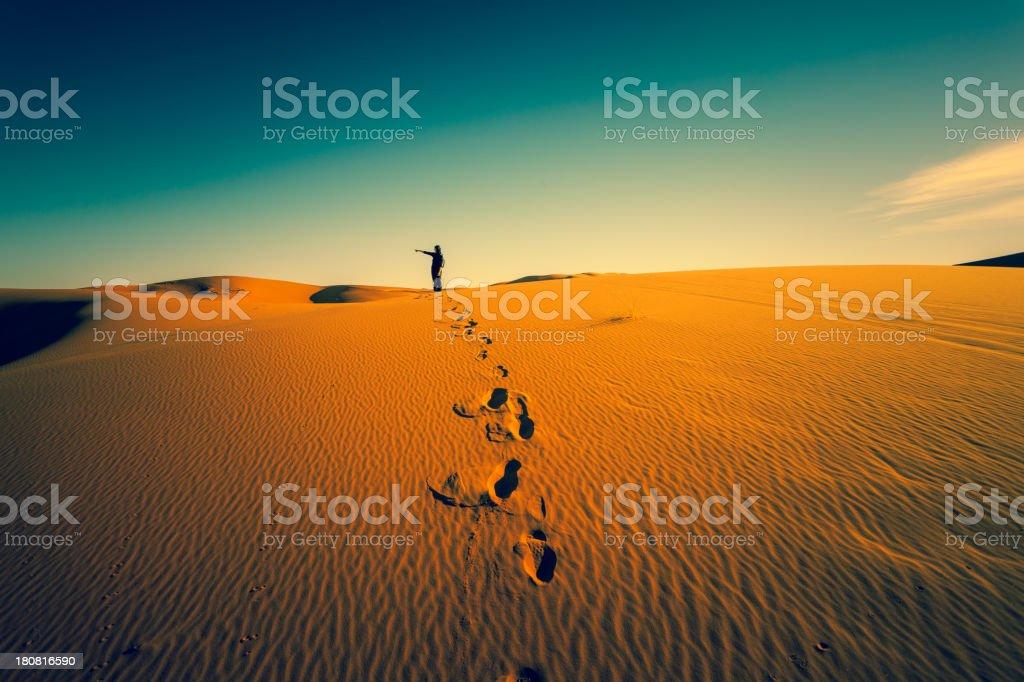 Adventure in the Desert stock photo