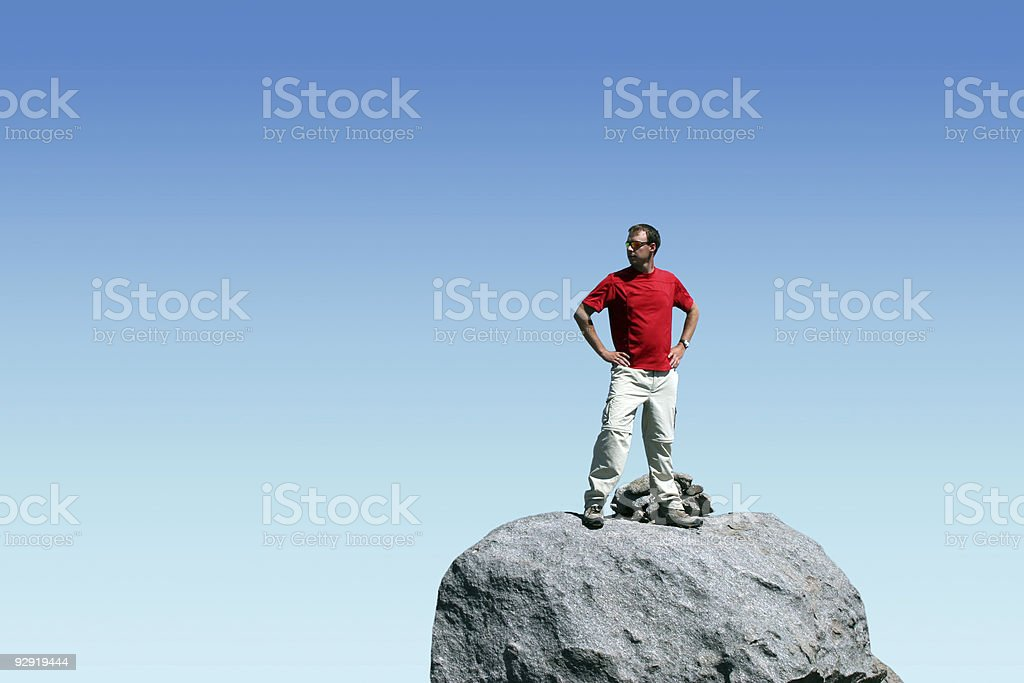 Adventure in the Outdoors royalty-free stock photo