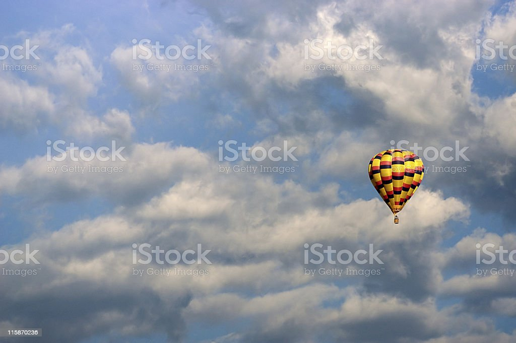 Adventure in the sky royalty-free stock photo