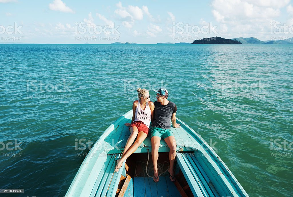 Adventure is worthwhile stock photo
