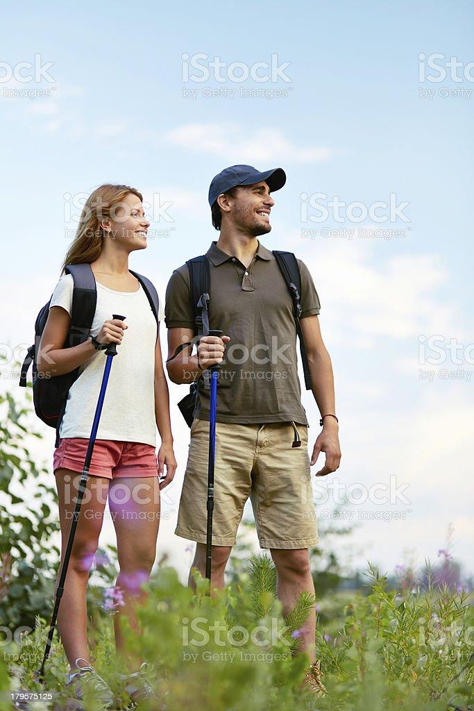 Adventure lovers royalty-free stock photo