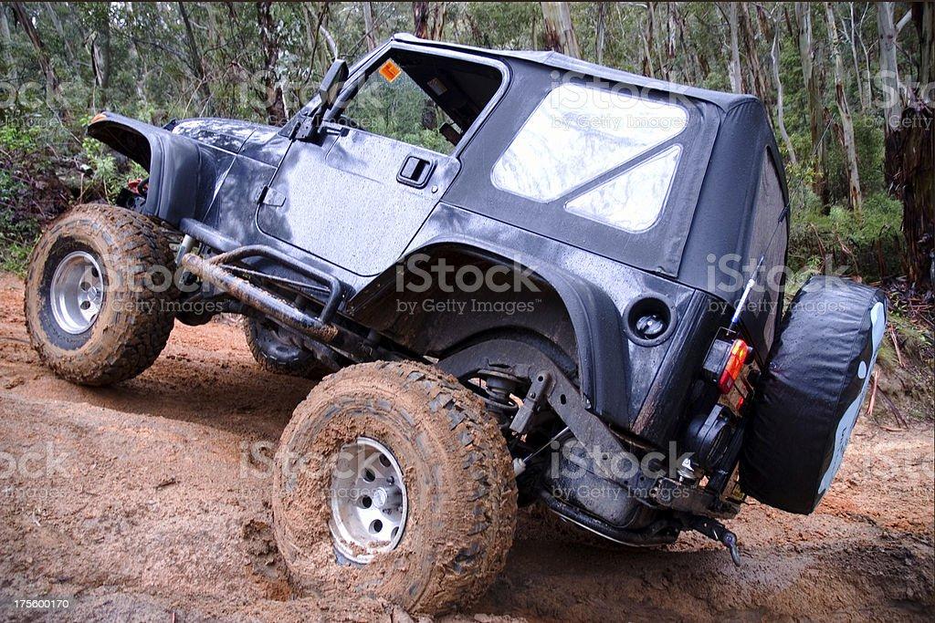 4WD adventure royalty-free stock photo